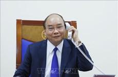 越南政府总理阮春福与美国总统唐纳德·特朗普通电话