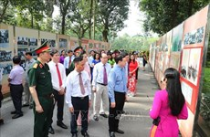 胡志明主席专题展活动在主席府举行