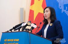 越南建议中国不要使东海形势复杂化