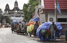 2020年第一季度泰国的边境和跨境贸易同比下降了7.6%