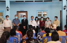 新冠肺炎疫情:3000名越裔柬埔寨人获得援助