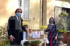 新冠肺炎疫情:越南驻意大利大使馆助力当地政府抗击疫情
