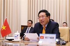 越南政府副总理兼外交部长范平明在联合国安理会视频峰会上的讲话(全文)