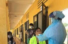 新冠肺炎疫情:接收并对从外国回来的160余名公民进行隔离和取样检测