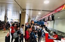 越捷航空公司恢复全部国内航线