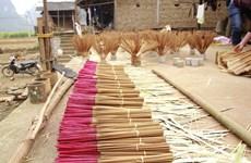 越南高平省侬安同胞的传统行业——制香业