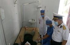 长沙群岛西双子岛上医生成功营救一突发减压病渔民
