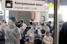 越南将俄罗斯340名越南公民接回国