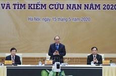 政府总理阮春福:需制定针应对每个自然灾害的方案