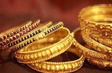 5月15日越南国内黄金价格接近4900万越盾