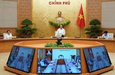 越南政府2020年4月份例行会议决议:全力推进生产经营活动和开展疫情防控工作的双重目标