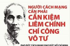 在党的革命道德建设中坚持胡志明思想