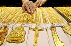 5月18日越南国内黄金价格上涨40万越盾以上