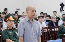 越南海军军种军事法院初审开庭 公开审理丁玉系和同案嫌犯