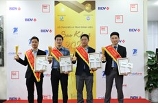 2020年奎星奖对越南国家数字化转型进程做出贡献