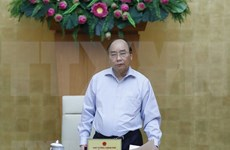 越南政府总理在政府常务委员会新冠肺炎疫情防控工作会议上的发表意见