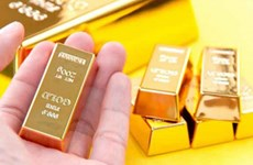 5月19日越南国内黄金价格下降45万越盾