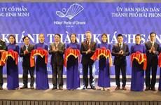 海防市吉婆岛首家五星级酒店竣工投入运营