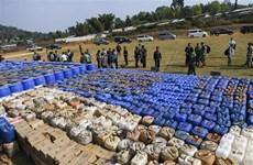 缅甸缉获东南亚最大规模的毒品案
