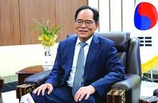 """韩国驻越南大使:越韩必将""""风雨过后见太阳"""""""