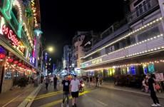 胡志明市裴院步行街主要接待国内游客