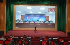 越中两国军医开展新冠肺炎疫情防控工作经验交流