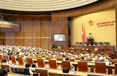 越南十四届国会第九次会议:讨论两部法案