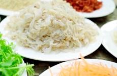 明州岛乡的美食:水母沙拉