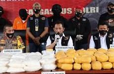 印度尼西亚破获一起特大毒品案缴获毒品821公斤