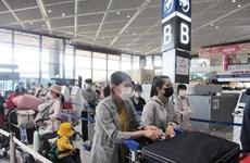 越南将340余名公民从日本接回国