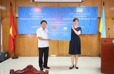 越南向乌克兰人民赠予口罩和现金 用于抗击新冠肺炎疫情
