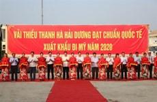 海阳省向新加坡、美国、澳大利亚出口2020年首批荔枝