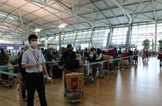 将在韩国的越南公民运送回国