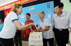 广平和平定两省地雷受害者获得应对新冠肺炎疫情的援助