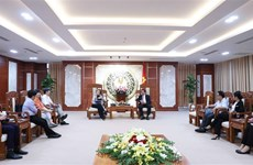 联合国儿童基金会驻越南代表处愿意协助金瓯省解决由自然灾害和疫情造成的困难
