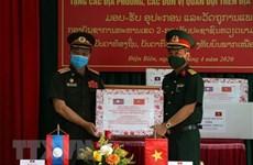 广义省向老挝占巴塞省提供防疫医疗物资援助