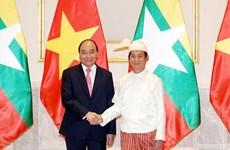 越南领导人致信祝贺越南-缅甸建交45周年