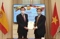 西班牙公民被任命为越南驻西班牙塞维利亚名誉领事