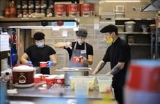 旅俄越侨为俄罗斯一线医务人员免费提供午餐