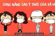 外国记者称赞越南抗击疫情的成功