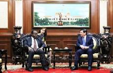 胡志明市愿与安哥拉哈亚美尼亚加强合作