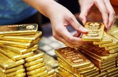 6月3日越南国内黄金价格下降15万越盾