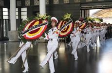 武卯同志遗体告别仪式和追悼会在河内隆重举行