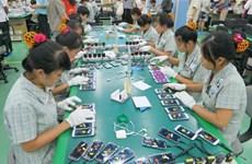 2020年前5月越南手机及零配件出口额超过170亿美元