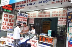 越南信息传媒部没收已激活的6900张SIM卡