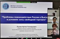 """""""越南与俄罗斯面临新挑战的经济关系""""的研讨会在河内举行"""