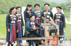 北江省陆山乡大力开展少数民族帮扶工作