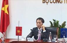 工贸部部长陈俊英与欧盟贸易高级官员就EVFTA生效日期达成一致