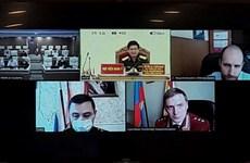 越南与俄罗斯军医合作展开新冠肺炎疫情防控线上交流