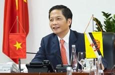 越南与文莱为两国商业航线早日重启作出努力